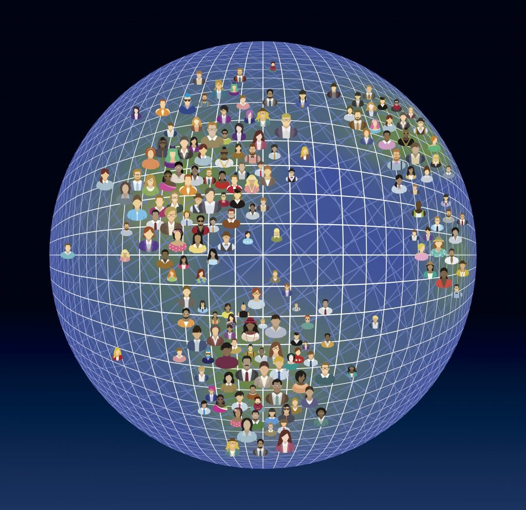 People, planet and global network