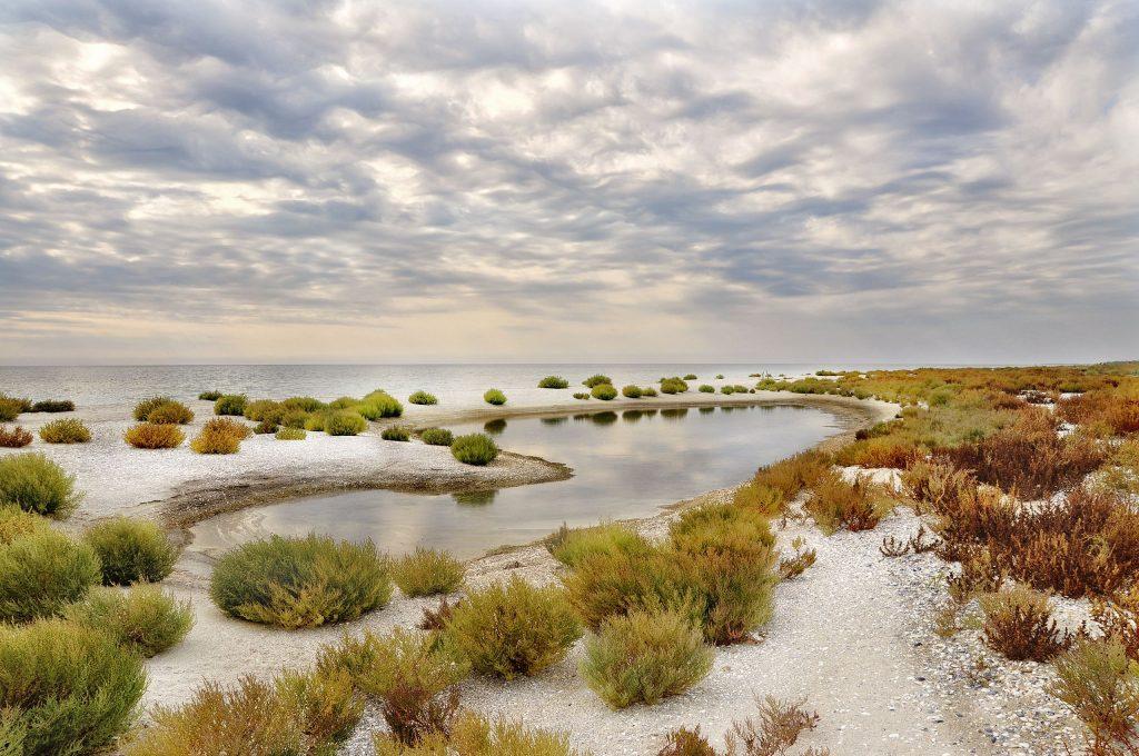 Ukraine Kinburn Sandbar