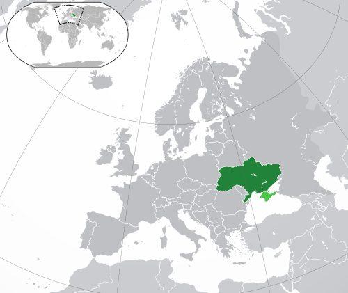 Ukraine Map Location