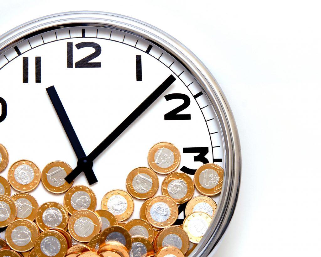 Clock & Coins