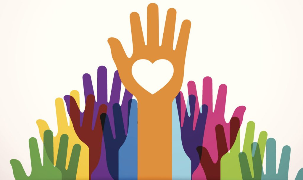 philanthropy hands