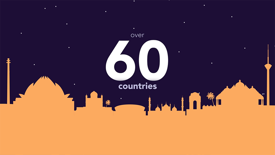 60 Countries