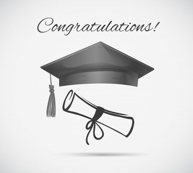 congratulations-card-template-with-graduation-cap_1308-5753