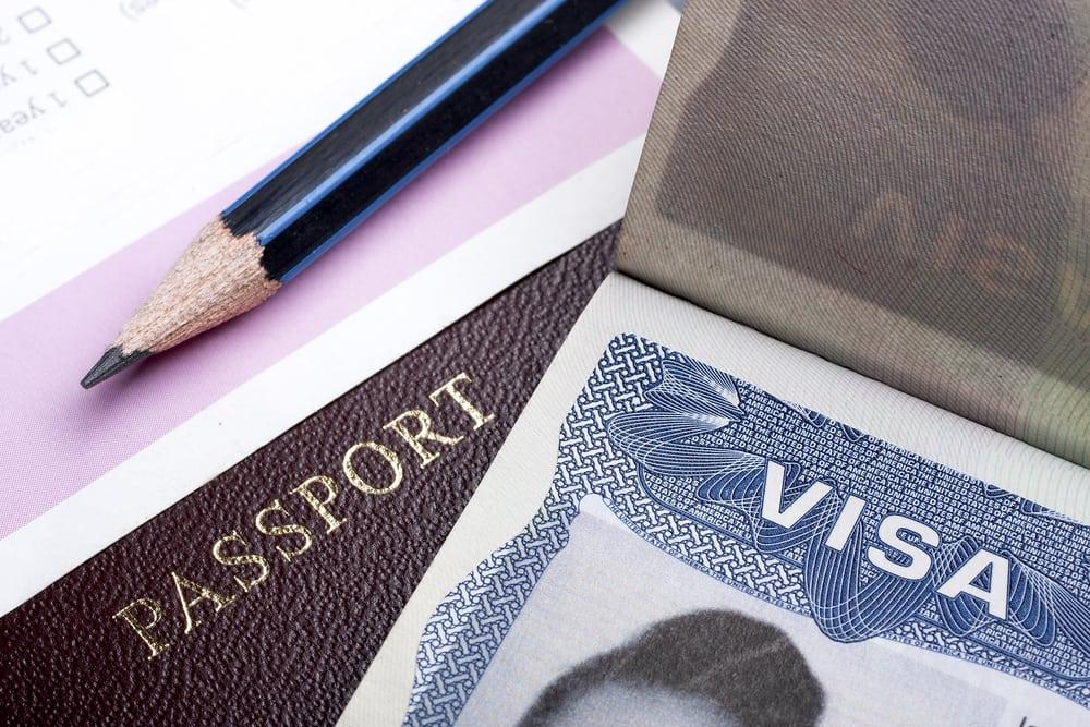 Visa-Stamp