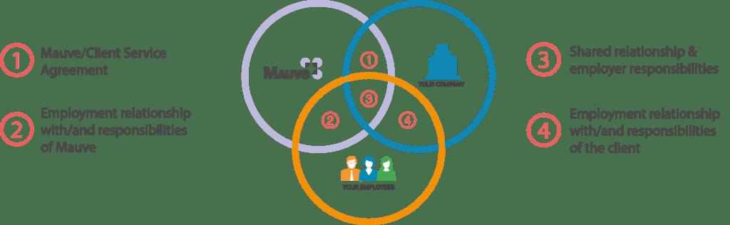 Venn Diagram Illustrating how EoR works